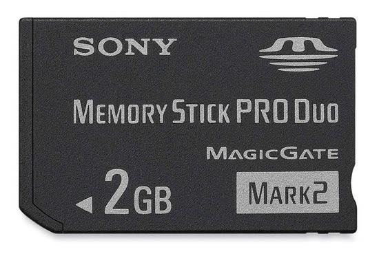 Карта Memory Stick от Sony с емкостью 2 Гб