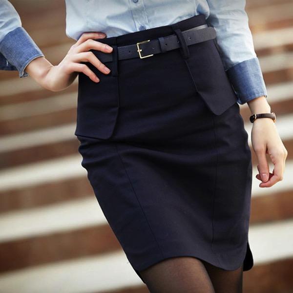 Модели классических юбок