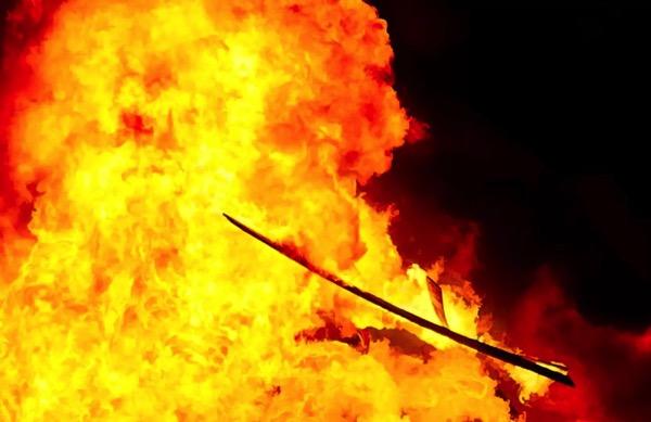 Пожар в Яшнабадском районе