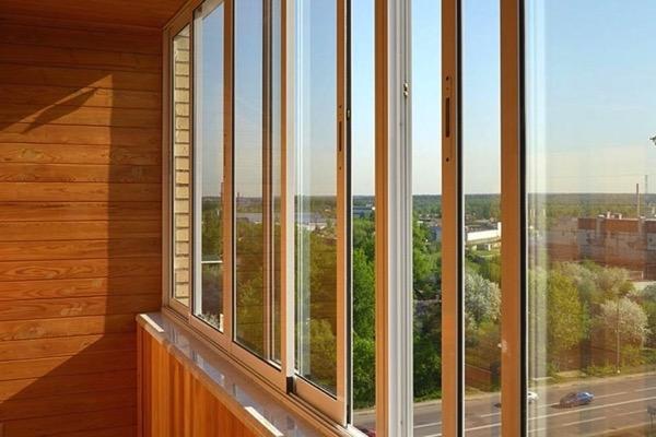 Цены на отделку балконов