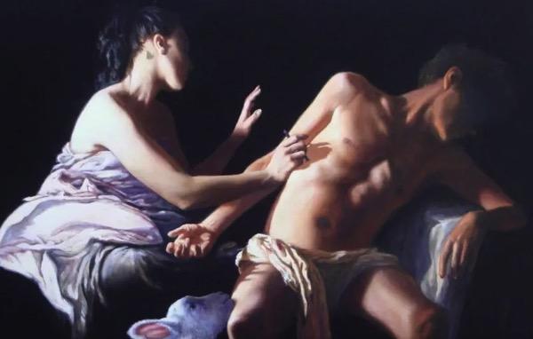 Трофим Биго «Святой Себастьян, помогающий Святой Ирэн»